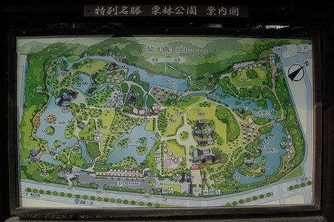 栗林公園地図