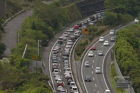山陽自動車道渋滞